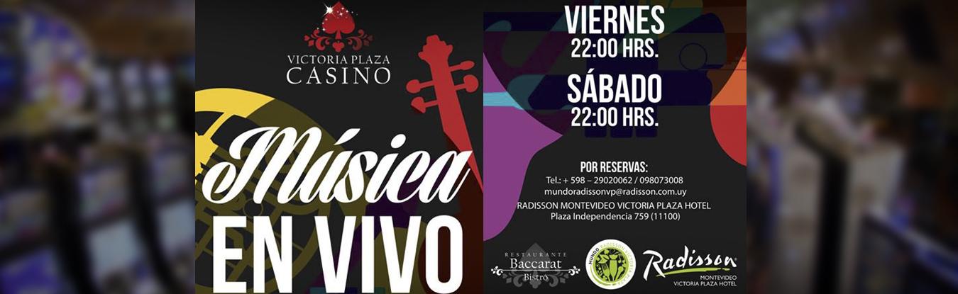 Música en vivo en Casino Victoria Plaza!